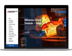 "Check out new work on my @Behance portfolio: ""Odlewy.com - company website"" http://be.net/gallery/45845705/Odlewycom-company-website"