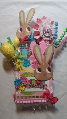 Happy Easter Loaded envelope by Monique Fox - Scrapbook.com