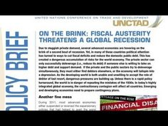 On the Brink: Fiscal Austerity Threatens a Global Recession