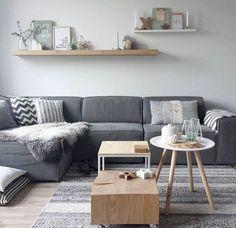 Salón estilo escandinavo