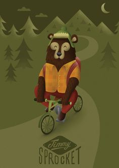 Cycling Critters.