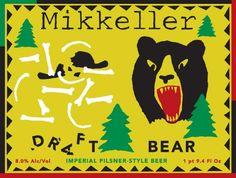 Mikkeller Draft Bear Imperial Pilsner-Style beer