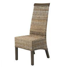 D tails sur 2 chaises restaurant en lloyd loom tresse - Chaise en kubu tresse ...