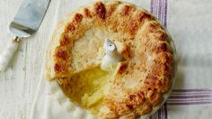 Bramley apple and ginger pie with lemon thyme   Recipes   Yours