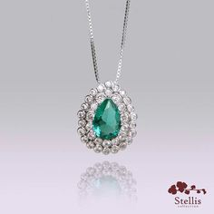 Amamos esse colar lindíssimo com pingente em gota de zircônia! ❤😍 ❤  #stelliscollection #stellis #lindo #colar #necklace