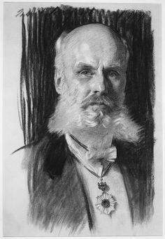 Portrait of Dr. William Sturgis Bigelow, 1917 // John Singer Sargent (American, 1856–1925)
