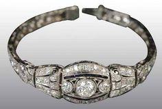 Antique Diamond Bracelet...