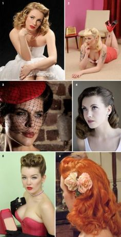 50s hairstyle inspiration