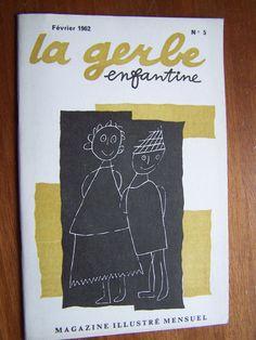 La Gerbe Enfantine N°5, Février 1962 -  Magazine Illustré mensuel
