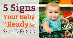 Starting solids can be tricky. Most babies start to eat when they're around 6 months old. But how can you be sure that they're ready? Find out in this post!