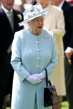 Queen Elizabeth II attends day one of Royal Ascot at Ascot Racecourse on June 17, 2014 in Ascot, England.