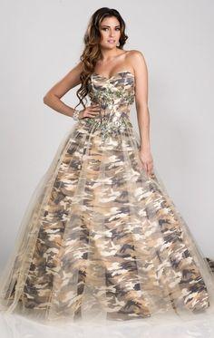 de4a7a68aa0 camouflage prom dress Orange Camo Wedding Dresses Wedding