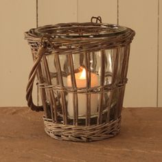 whicker hurricane lamp