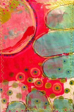AlteredStatesStudio- 2014 great big stitched postcard swap