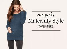 Project Nursery Picks: Maternity Sweaters