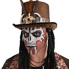 Spooki3's Halloween Shop: Witch Doctor Makeup How To