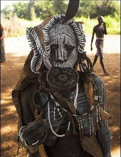 Southern Ethiopia Tribes Mursi Tribes