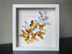 ayuda para cuadro con mariposas   Aprender manualidades es facilisimo.com
