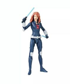 "Marvel Legends Black Widow Deluxe 6/"" Action Figure New In-Hand With Stand MCU"