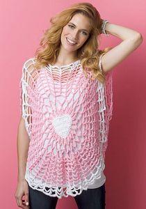 Lighthearted Tunic  - Crochet Summer Tops for Women