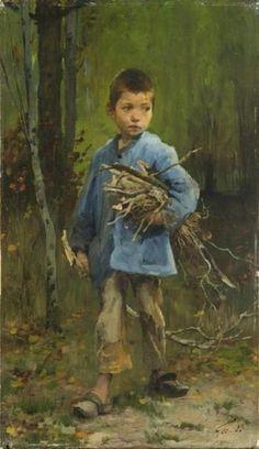 Henry Jules Jean Geoffroy, Enfant pauvre. 1883 © Bayeux Museum
