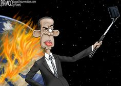 And carry a big selfie stick. by A.F. Branco on Legal Insurrection