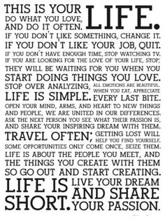 """Holstee - Holstee - Poster White Manifesto, 18"""" X 24"""" - - Display these words of inspiration as a daily reminder to live your dream."""