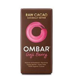 Σοκολάτα Ωμή Γκότζι - 35g Organic Chocolate, Raw Chocolate, Coconut Palm Tree, Raw Cacao, Coconut Sugar, Blueberry, Dairy Free, Berries, Palm Sugar