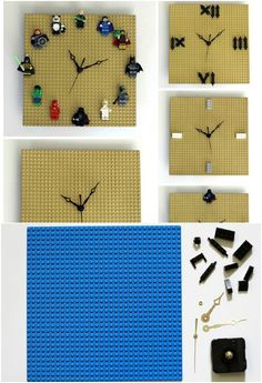 Everyone Loves Lego! Such a great idea for a kids room.