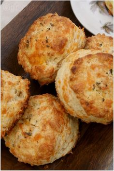 Buttermilk Cheddar Biscuits http://www.girlichef.com/2012/03/50-women-game-changers-in-food-39-ina.html #BakeYourOwnBread