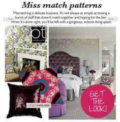 Miss match patterns