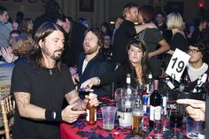 NME Awards 2011 with Carling (and Dave Grohl) via cakegroup.com