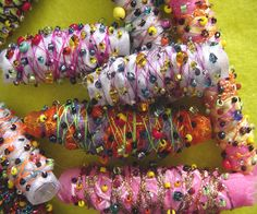 Image detail for -Fabric Beads Extravaganza