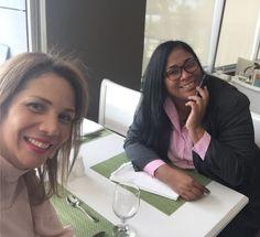 Con mi amiga @yaltar en el hotel @crowneplazard algo viene pronto excelente servicio!! @soymujerencuentrosparacrecer #coachinglife