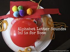 Simple ideas for introducing the alphabet letter sound [n].