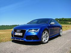 Handsome Audi RS 7 is a practical performer: It's basically an R8 with rear seats. #cars #audi