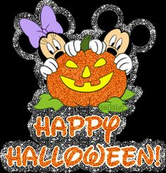 mickey and minnie halloween pictures Happy Halloween Gif, Mickey Mouse Halloween, Halloween Pictures, Scary Halloween, Disneyland Halloween, Halloween Party, Halloween Wallpaper Iphone, Disney Wallpaper, Glitter Images