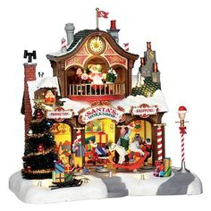 Pinterest christmas villages christmas village houses and figurine