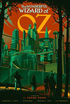 Retro futurist movie posters designed by Laurent Durieux | Undermatic