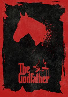 THE GODFATHER Movie Poster Francis Ford Coppola by BaydleCreative
