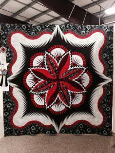 Fire Island Hosta quilt by Tammy Doane