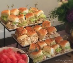 These chicken salad sandwich rolls are the perfect bite size sandwiches, whether for a nice picnic on the weekend, an appetizer for a cocktail party, or a something a little special for your kid's lunches. I recently made these rolls for a Summer Soiree that my roommates and I hosted. We didn't serve a full dinner, …