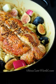 Sweet Potato, Brussel Sprouts and Pork Loin Casserole | Recipe | Pork ...