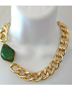 The Chunky Agate Necklace by JewelMint.com, $50.00