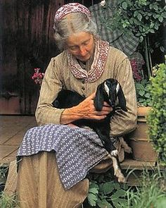"""""""I'm very fond of men. I think they are wonderful creatures. I love them dearly. But I don't want to look like one. When women gave up their long skirts, they made a grave error…"""" ~Tasha Tudor"""
