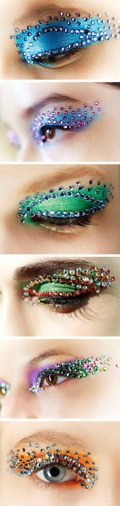 # CREATIVE DIOR EYESHADOW W/CRYSTALS