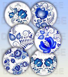 80 Images digitales bijoux - papier digital pour cabochon, création bijoux PA434 : Cabochon par digital-image