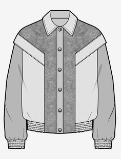 Flat Drawings, Flat Sketches, Technical Drawings, Fashion Design Sketchbook, Fashion Sketches, Grey Fashion, Fashion Flats, Croquis Fashion, Smart Casual Wear