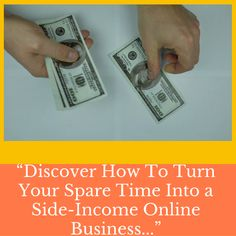 How you can turn your free time into passive income why your are wasting your valuable time start now hurry up   #online #business #passiveincome #sideincome #pinterest Make Money Online, How To Make Money, Free Time, Passive Income, Online Business, Time Out