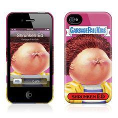 Shrunken Ed iPhone 4/4S Case $23